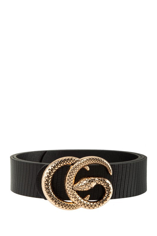 THE CLASSIC SNAKE G BELT