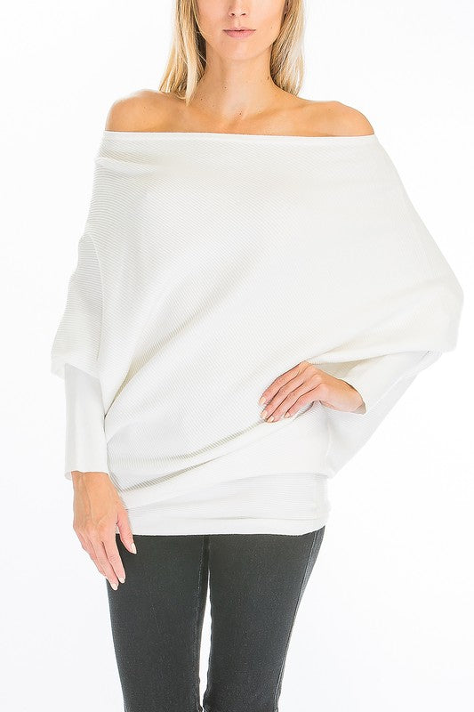 THE ASYMMETRIC ASPEN - CASHMERE MIX