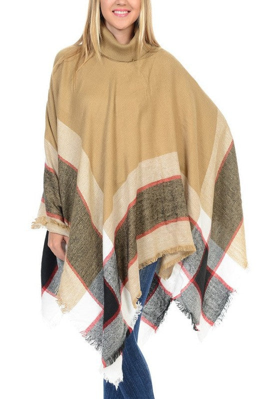 THE CHECK MATE PONCHO
