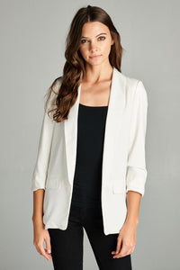 THE BEAU FRERE JACKET - OFF WHITE