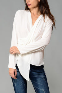 THE ADELINE ASYMMETRIC TOP