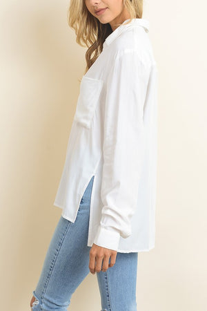 THE ELLIE ESSENTIAL WHITE SHIRT