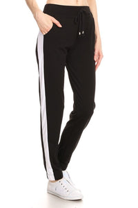 THE STAYING PUT JOGGERS - BLACK