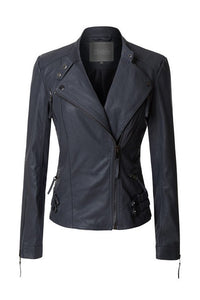 THE TAKE THE EDGE MOTO JACKET