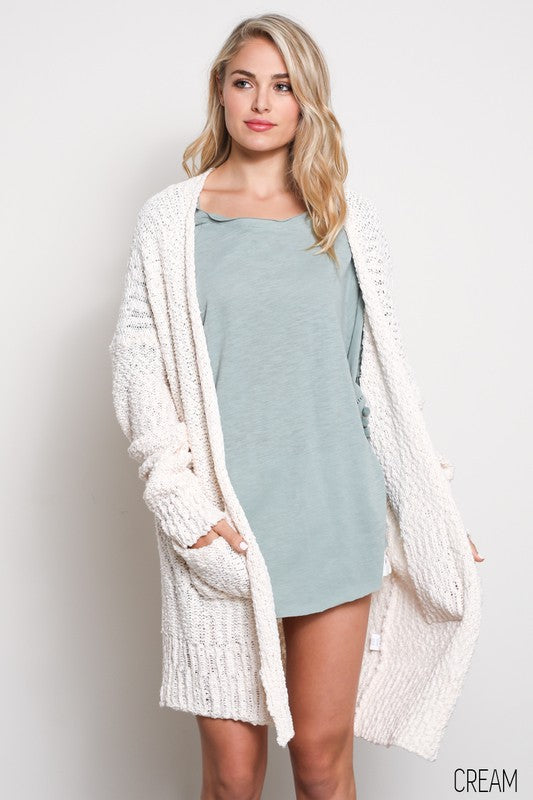 THE BLISSFUL SLOUCH CARDI