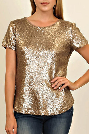 THE VIVIENNE SEQUIN TOP