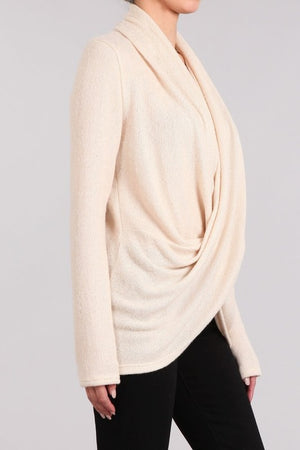 THE ESSENTIAL DRAPED LIGHTWEIGHT KNIT
