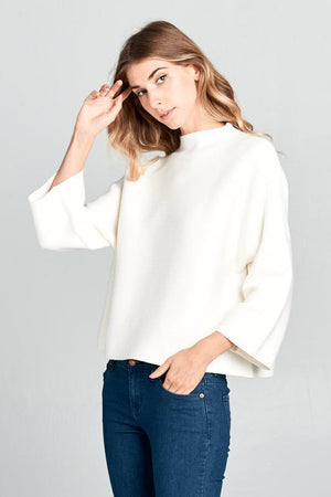 THE ALL IN FAVOR KNIT - IVORY