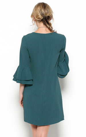 THE GREEN WITH ENVY DRESS