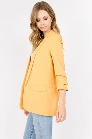 THE BEAU FRERE JACKET - GOLDENROD