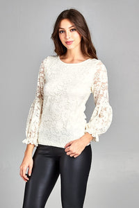 THE FREYA LACE TOP