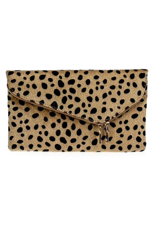 THE FAUX SURE FOLDOVER CLUTCH