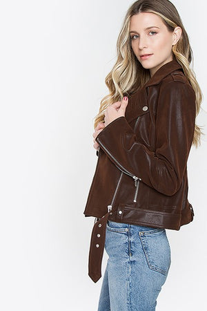 THE ORLA ESSENTIAL MOTO JACKET