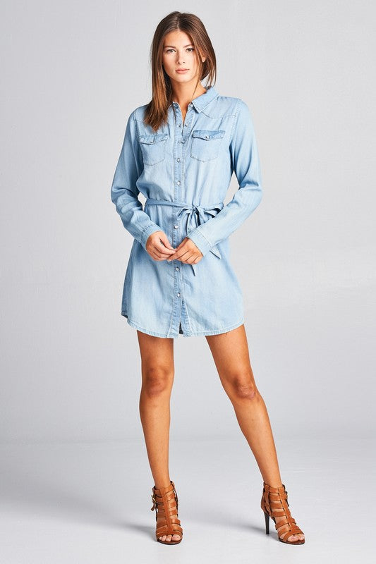 THE CHLOE SHIRT DRESS