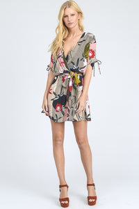 THE SHANGHAI SURPRISE PRINT DRESS
