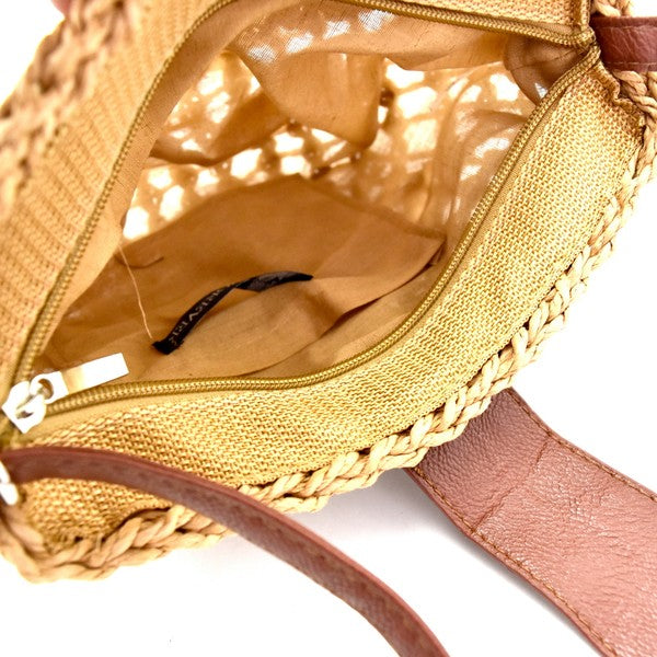 THE SUNBAKED RAFFIA BAG