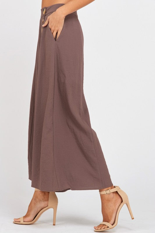 THE CARLY CULOTTES - TAUPE