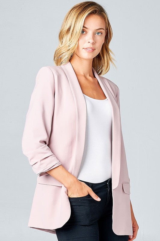 THE BEAU FRERE JACKET - LIGHT NEUTRAL
