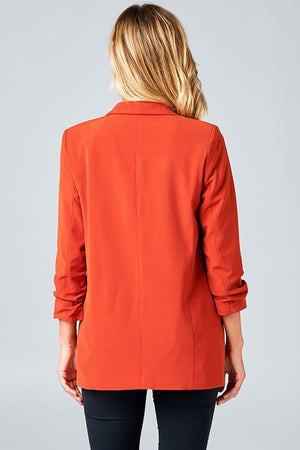 THE BEAU FRERE JACKET - RUST