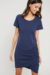 THE 10/10 TEE DRESS - BURNT OCHRE