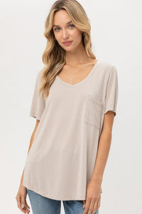 THE ESSENTIAL EDIT BASIC NUDE TEE