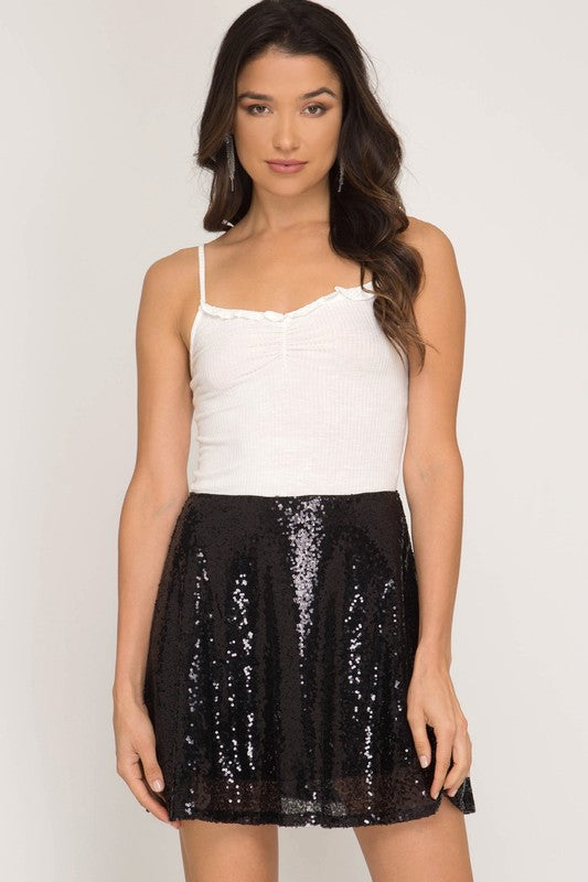 THE BAUBLE FLARE SKIRT