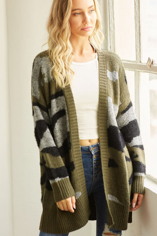 THE FIGHTING FASHION TALK CARDIGAN