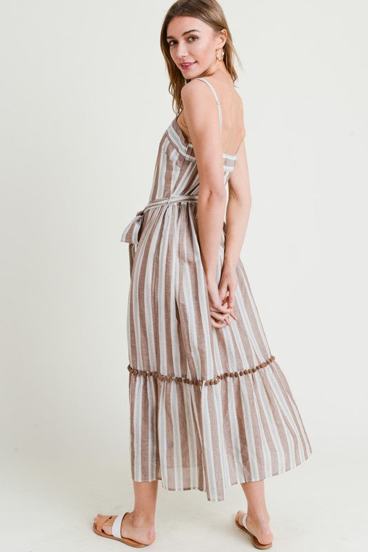 THE DAYTON STRIPED DRESS