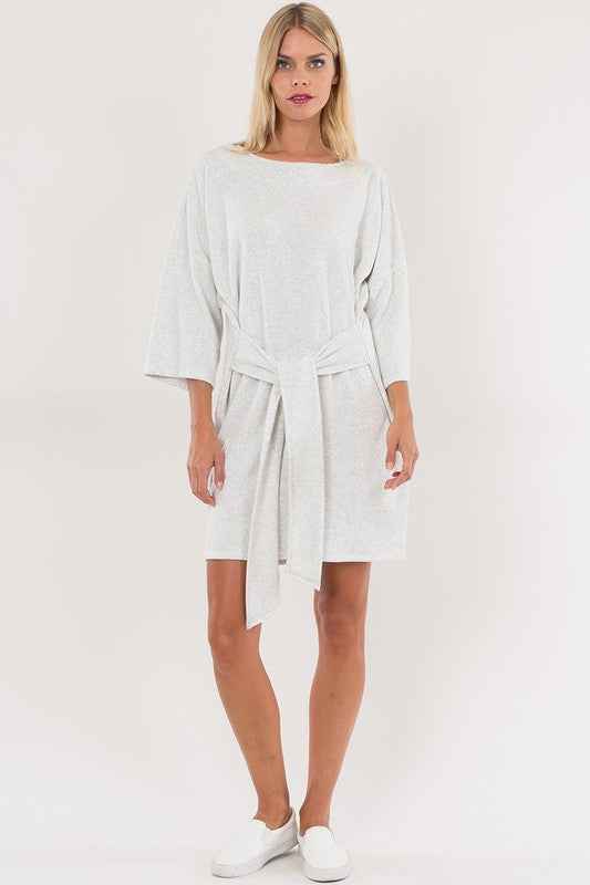 THE SECOND SPRING SWEATER DRESS