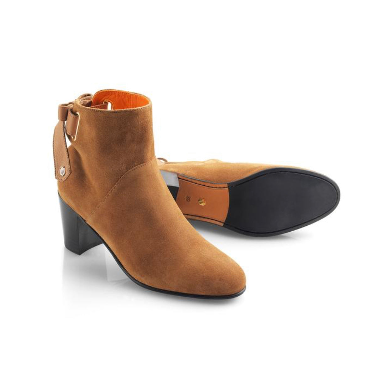 THE FAIRFAX & FAVOR BLAIR SUEDE ANKLE BOOT - TAN