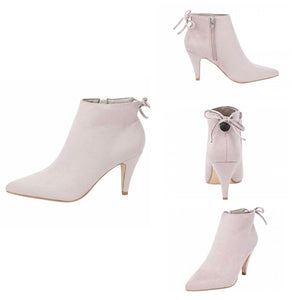 THE CITY LIGHTS MID HEEL BOOTIES