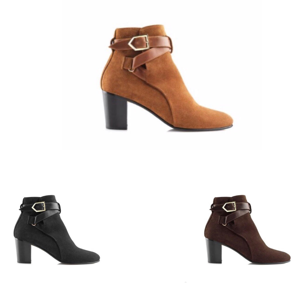 THE KENSINGTON ANKLE BOOTS