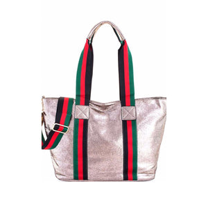 THE BELLEZZA METALLIC TOTE