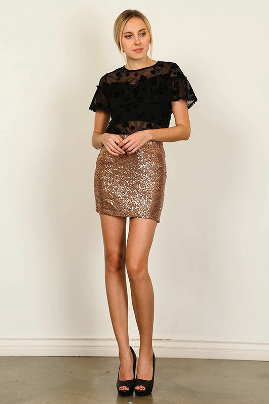 THE VIVIENNE SEQUIN MINI