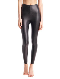 COMMANDO brand FAUX LEATHER LEGGINGS with Perfect Control