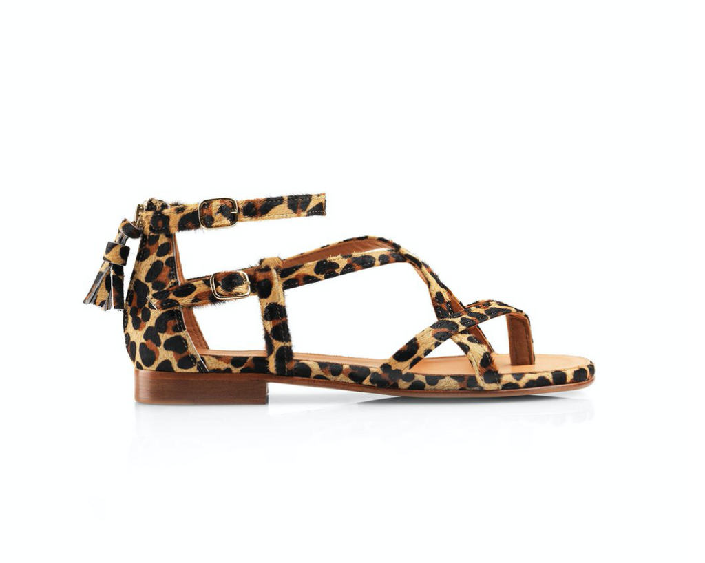 THE BRANCASTER SANDAL- JAGUAR - FAIRFAX & FAVOR