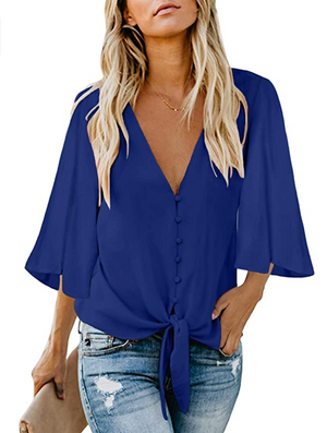 THE JUGGLE IT ALL TOP - COBALT