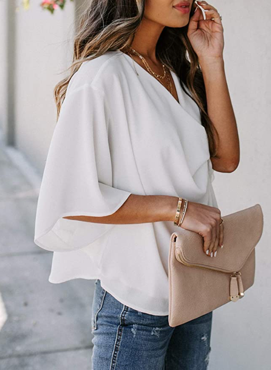 THE JOURNEY DRAPED TOP - ROSE