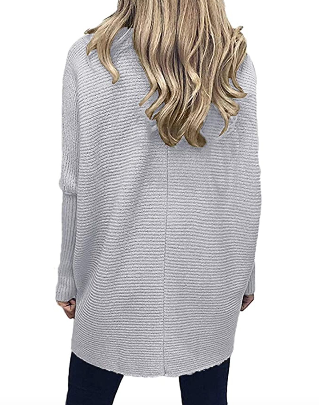 THE ALL THAT RIBBED KNIT - HEATHER GREY