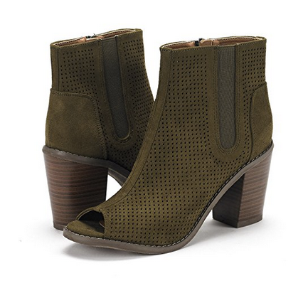 THE ASHBURY OPEN-TOE BOOTIE