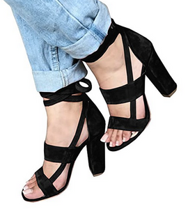 THE CRUSHING ON YOU STRAPPY HEEL