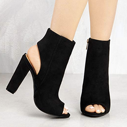 THE CHIC ME OPEN-TOE BOOTIE