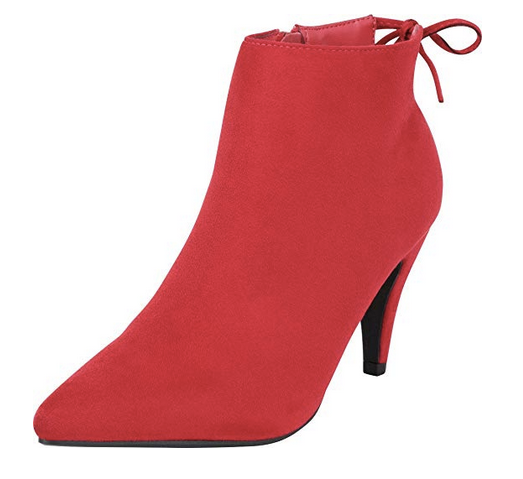 THE CITY LIGHTS MID HEEL BOOTIES - BRIGHT LIGHTS (OFF WHITE)
