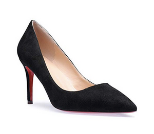 THE EDITION SIMPLE HEEL - BLACK