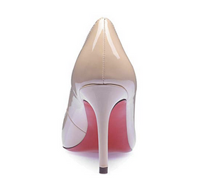 THE EDITION SIMPLE HEEL - NUDE