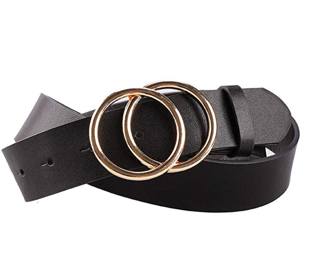 THE WINNERS CIRCLE BELT - BLACK