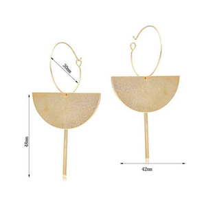THE FIGARO GEOMETRIC EARRINGS
