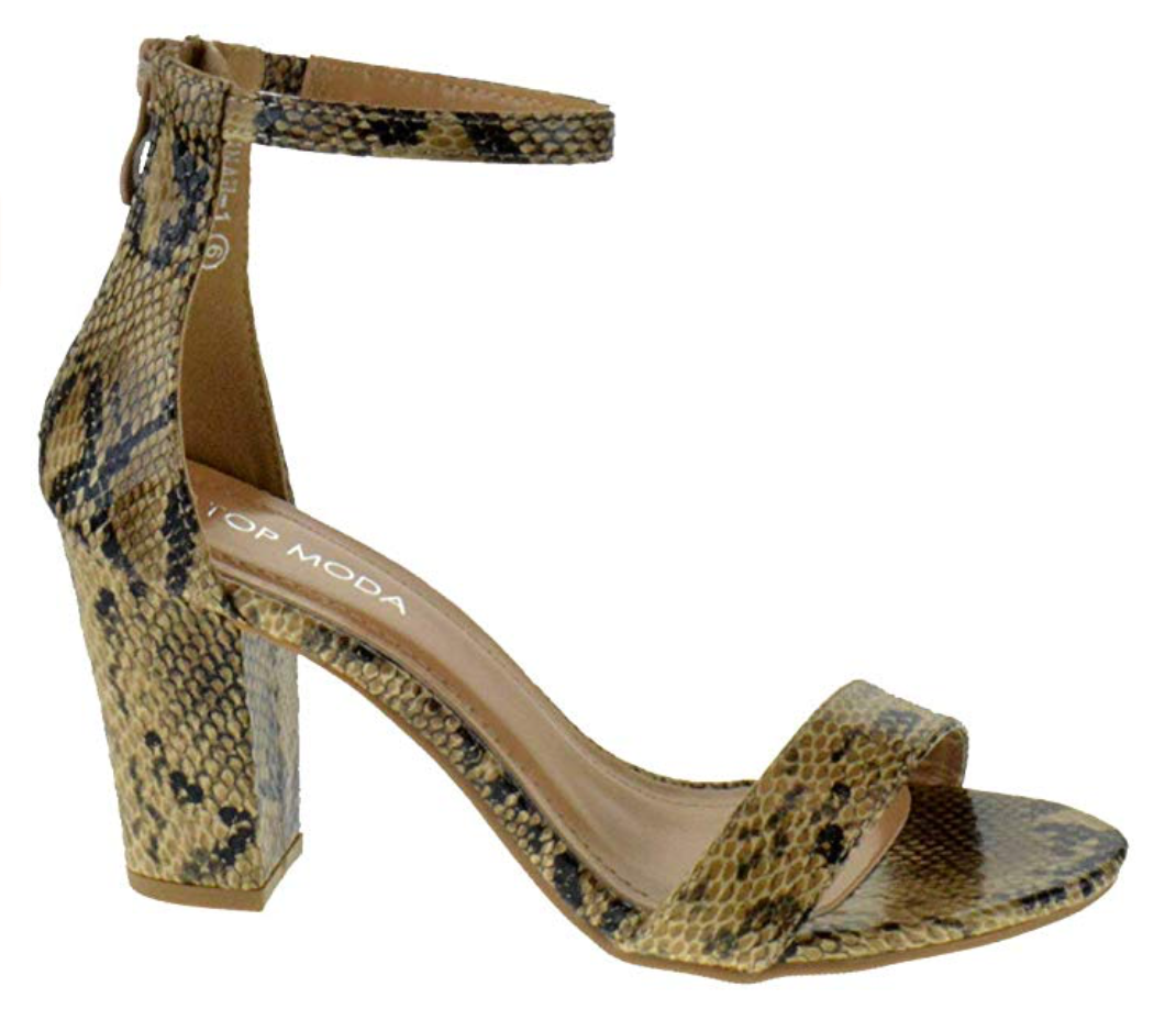 THE MULTI-WAY HEEL - 1 x STYLE, 9 x COLORS/PRINTS - RAFFIA NATURAL