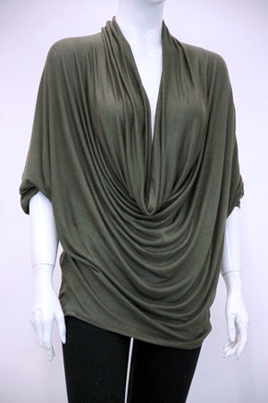 THE ISSEY DRAPED TOP