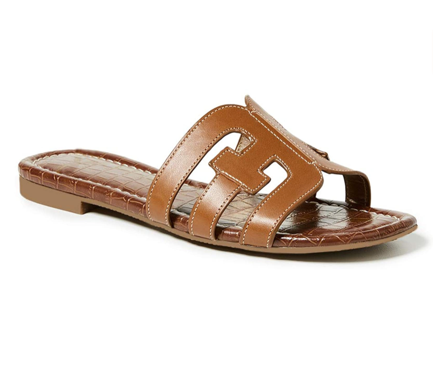THE H BAND SANDALS - BLACK